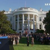 Une minute de silence à la Maison blanche pour les victimes du 11 septembre