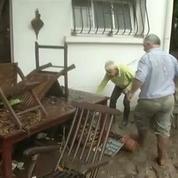 Le sud de la France en proie aux inondations