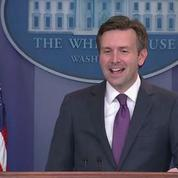 «Vous êtes si sensibles», lance le porte-parole de la Maison Blanche