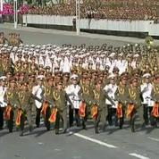 Corée du Nord : défilé militaire géant pour le 70e anniversaire du parti unique