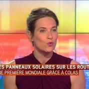 Les routes et autoroutes françaises transformées en énormes panneaux solaires