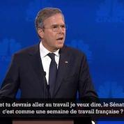 Quand Jeb Bush ironise sur «la semaine de travail française»