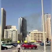 Un incendie spectaculaire dans une tour des Émirats arabes unis