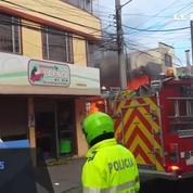 Colombie : crash d'un avion en pleine ville