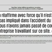 Du Bangladesh à la France, la sous-traitance des multinationales au Sénat