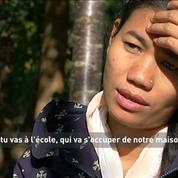Urmila, Népalaise, ancienne enfant esclave