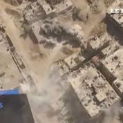 Syrie : des images aériennes des combats autour de Damas