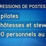 Air France-KLM s'engage vers des licenciements secs