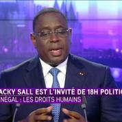 Macky Sall : Ce ne sont pas les organisations des droits de l'Homme qui gouvernent notre pays