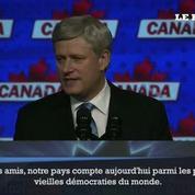 Canada: Stephen Harper quitte la tête des conservateurs