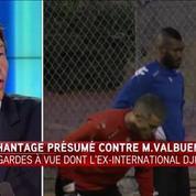 M. Valbuena victime de chantage : quatre personnes dont D. Cissé en garde à vue