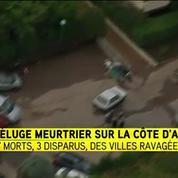Alpes-Maritimes: un des quatre disparus a été retrouvé à Antibes