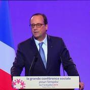 La conférence sociale s'ouvre sur fond de crise chez Air France