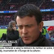 Manuel Valls au Stade de France : « Nous sommes rassemblés et plus forts que le terrorisme »