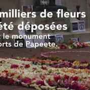 La Polynésie rend hommage aux victimes des attentats de Paris
