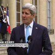 John Kerry reçu à l'Elysée
