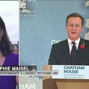 Cameron pose ses conditions sur le maintien de Londres dans l'UE