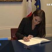 Kate et William à l'ambassade de France pour exprime la solidarité du Royaume-Uni