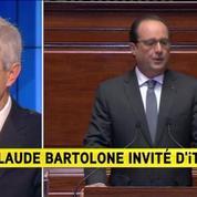 C. Bartolone : Les mesures annoncées constituent un programme de concorde nationale