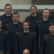 La Marseillaise conclut la cérémonie d'hommage