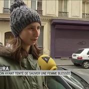 Laura a été témoin de l'attaque rue Bichat