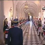 La première réunion du Congrès du mandat de François Hollande