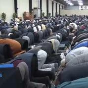 Jour de prière presque normal à la mosquée de Molenbeek