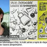 Crash en Egypte : la Russie n'apprécie pas les caricatures de Charlie Hebdo