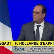François Hollande: Paris ville martyre mais ville lumière