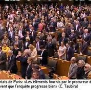 Le Parlement européen rend hommage aux victimes du 13 novembre