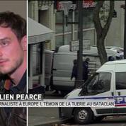 Attaques à Paris : Quand je me suis retourné, j'ai vu au moins trois hommes armés