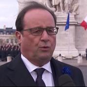 Rencontre Hollande-Sarkozy : «Je souhaite des cérémonies au-delà des clivages»