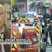Intervention à Saint Denis : M. Valls et B. Cazeneuve à l'Elysée