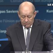 Le Drian remercie l'UE après l'annonce de son soutien
