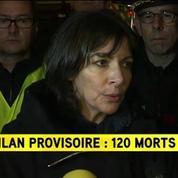 Anne Hidalgo: Ce soir c'est le moment de la douleur, mais Paris est là, debout