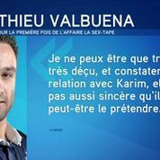Affaire de la sextape: Mathieu Valbuena sort de son silence
