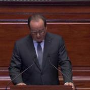 François Hollande devant le Congrès : la France est en guerre