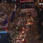 Attentats de Paris : Obama rend hommage aux victimes au Bataclan