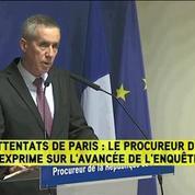 Attentats de Paris: la conférence de presse de François Molins