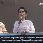 Birmanie : le parti d'Aung San Suu Kyi pense avoir gagné les élections