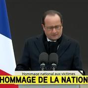 Hollande : «Cette génération saura faire preuve de grandeur»