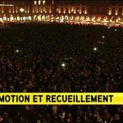 10.000 personnes réunies à Toulouse pour rendre hommage aux victimes de Paris