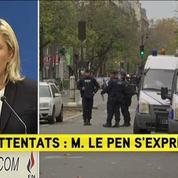 Marine Le Pen : «Les Français ne sont plus en sécurité»