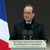 F. Hollande : Cette génération est aujourd'hui devenue le visage de la France