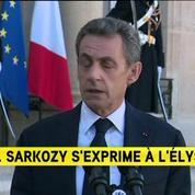 Nicolas Sarkozy : Nous sommes en guerre