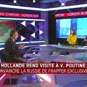 François Hollande à Moscou : convaincre la Russie sera difficile