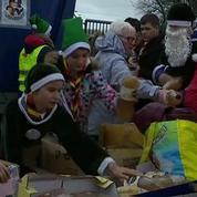 Des associations organisent un Noël pour les réfugiés à Calais