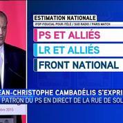 Jean-Christophe Cambadélis : «Un succès sans joie pour le Parti socialiste»