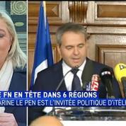 Marine Le Pen: Le FN mérite la confiance des Français