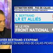 Xavier Bertrand: ce soir c'est la victoire des gens du Nord